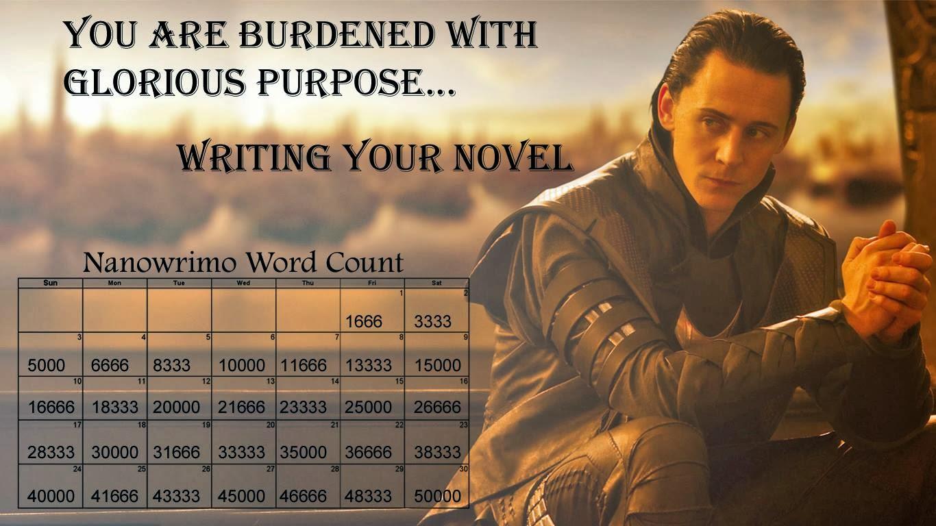 Burdened with glorious purpose...