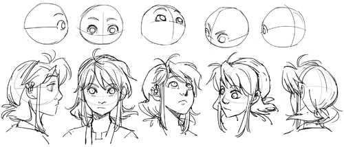 head turnaround
